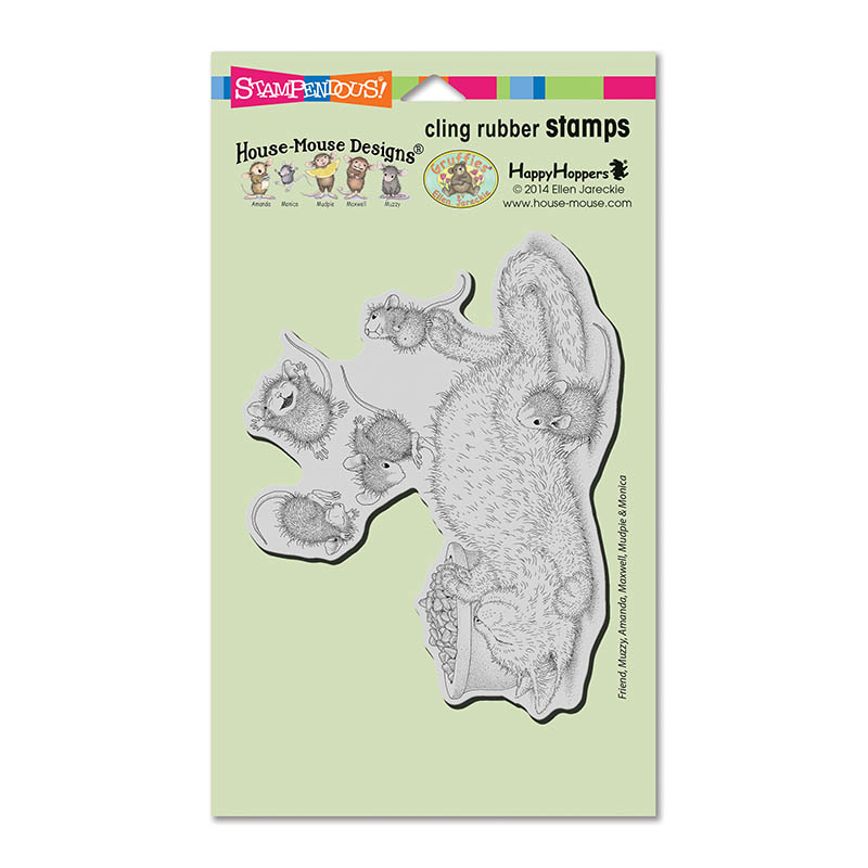 Stampendous Cling Mounted Rubber Stamps House Mouse