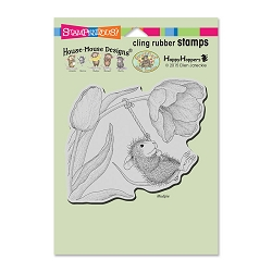 Stampendous Cling Mounted Rubber Stamps - House Mouse Designs - Spring Swing