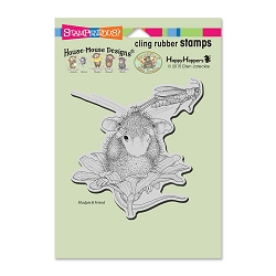 Stampendous Cling Mounted Rubber Stamps - House Mouse Designs - Grasshopper Leap