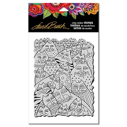 Stampendous - Laurel Burch - Cling Rubber Stamp Whiskers