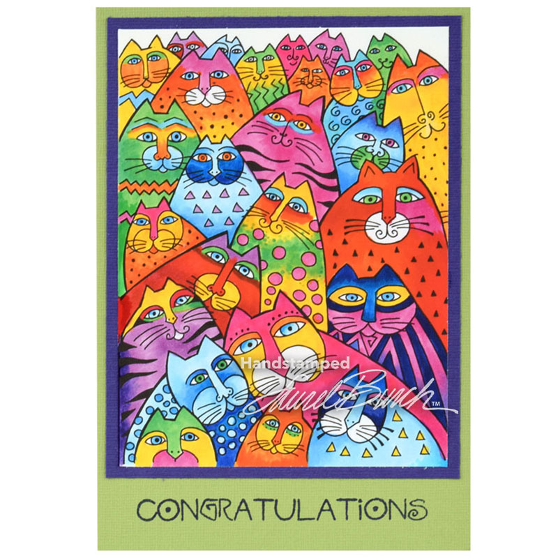 Stampendous - January 2017 Laurel Burch Stamps