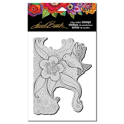 Stampendous - Laurel Burch - Cling Rubber Stamp Hummingbird Blossom
