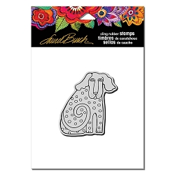 Stampendous - Laurel Burch - Cling Rubber Stamp Dog Tail