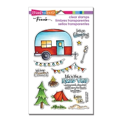 Stampendous Perfectly Clear Stamp - Campground