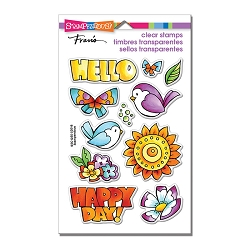 Stampendous Perfectly Clear Stamp - Happy Birds