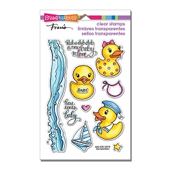 Stampendous Perfectly Clear Stamp - Rubber Duckies