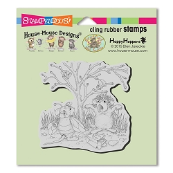 Stampendous Cling Mounted Rubber Stamps - House Mouse Designs - Costume Play Rubber Stamp