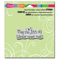 Stampendous Cling Mounted Rubber Stamps - Joys Of Winter