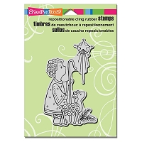 Stampendous Cling Mounted Rubber Stamps - Shepherd Lamb