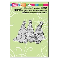 Stampendous Cling Mounted Rubber Stamps - Birdie Trio
