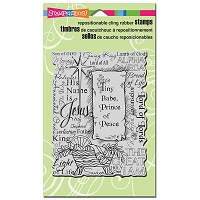 Stampendous Cling Mounted Rubber Stamps - Tiny Prince
