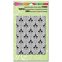Stampendous Cling Mounted Rubber Stamps - Holly Background