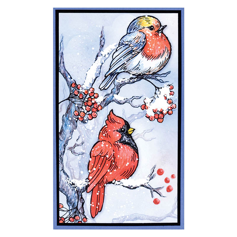 Stampendous - July 2016 Christmas Stamps & Dies