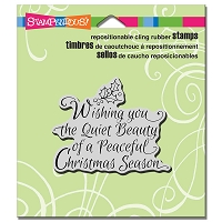 Stampendous Cling Mounted Rubber Stamps - Quiet Beauty