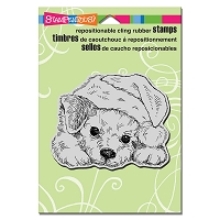 Stampendous Cling Mounted Rubber Stamps - Patient Pup