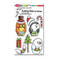 Stampendous - Cutting Die - Winter Friends Die Set