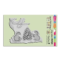 Stampendous Cling Mounted Rubber Stamps - House Mouse Designs - Berry Decorations