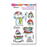 Stampendous Perfectly Clear Stamp - Winter Stack
