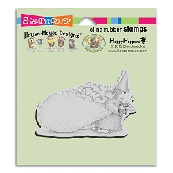 Stampendous Cling Mounted Rubber Stamps - House Mouse Designs - Candy Witch Rubber Stamp