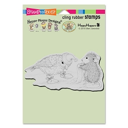 Stampendous Cling Mounted Rubber Stamps - House Mouse Designs - Birdie Booties Rubber Stamp