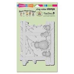 Stampendous Cling Mounted Rubber Stamps - House Mouse Designs - Window Wonder Rubber Stamp