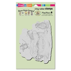 Stampendous Cling Mounted Rubber Stamps - House Mouse Designs - Flour Play Rubber Stamp