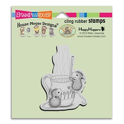 Stampendous Cling Mounted Rubber Stamps - House Mouse Designs - Warm Drink Rubber Stamp