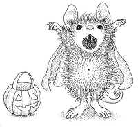 Stampendous - Cling Mounted Rubber Stamp - House Mouse Count Maxwell
