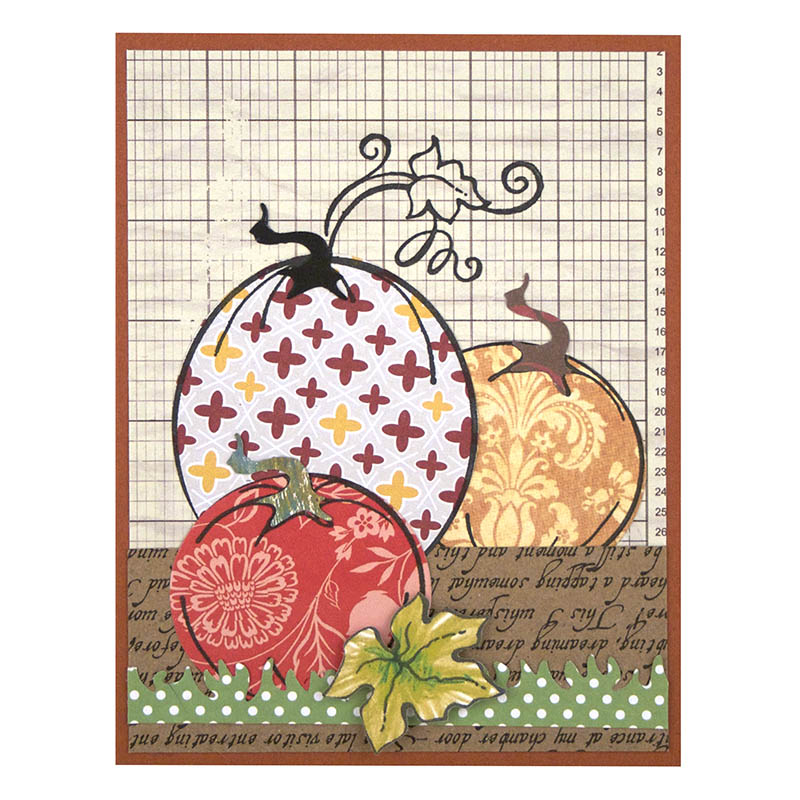 Stampendous Cling Mounted Rubber Stamps Create Fall Set