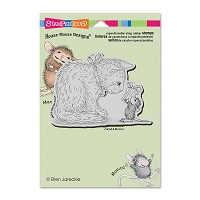 Stampendous Cling Mounted Rubber Stamps - House Mouse Gift for Kitty