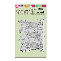 Stampendous Cling Mounted Rubber Stamps - House Mouse Peace On Earth