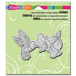 Stampendous Cling Mounted Rubber Stamps - Nectar Seeker