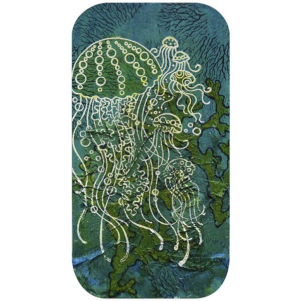 Stampendous Cling Mounted Rubber Stamps Jellyfish
