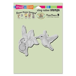 Stampendous Cling Mounted Rubber Stamps - House Mouse Designs - Iris Climber Rubber Stamp