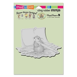 Stampendous Cling Mounted Rubber Stamps - House Mouse Designs - Pencil Sharpener Rubber Stamp