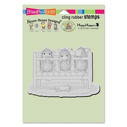 Stampendous Cling Mounted Rubber Stamps - House Mouse Designs - Crib Time Rubber Stamp