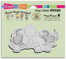 Stampendous Cling Mounted Rubber Stamps - House Mouse Designs - Bubble Popper