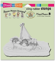 Stampendous Cling Mounted Rubber Stamps - House Mouse Designs - Sail Cup