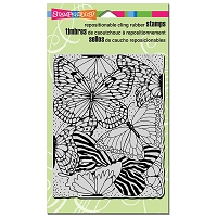 Stampendous Cling Mounted Rubber Stamps - Butterfly Wings