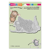 Stampendous Cling Mounted Rubber Stamps - House Mouse Designs - Lilac Aroma