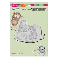 Stampendous Cling Mounted Rubber Stamps - House Mouse Designs - Nurse Mouse
