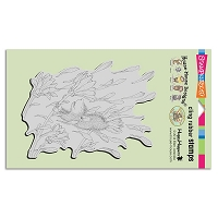 Stampendous Cling Mounted Rubber Stamps - House Mouse Designs - Blossom Breeze