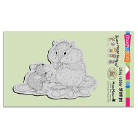 Stampendous Cling Mounted Rubber Stamps - House Mouse Designs - Chipmunk Treat