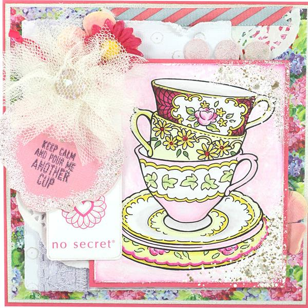 Kitchen Tea Quotes For Cards: Cling Mounted Rubber Stamp