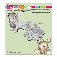 Stampendous - Cling Mounted Rubber Stamp - House Mouse Make A Wish