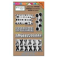 Stampendous - Cling Mounted Rubber Stamp - NK Studio Marks