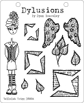 Dylusions - Cling Rubber Stamps - Tallulah Tripp