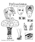 Dylusions - Cling Rubber Stamps - Curious Corrin
