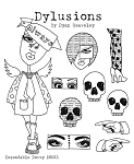 Dylusions - Cling Rubber Stamps - Dependable Dotty