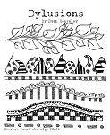 Dylusions - Cling Rubber Stamps - Further Around the Edge